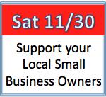 Small Business Saturday 11:30